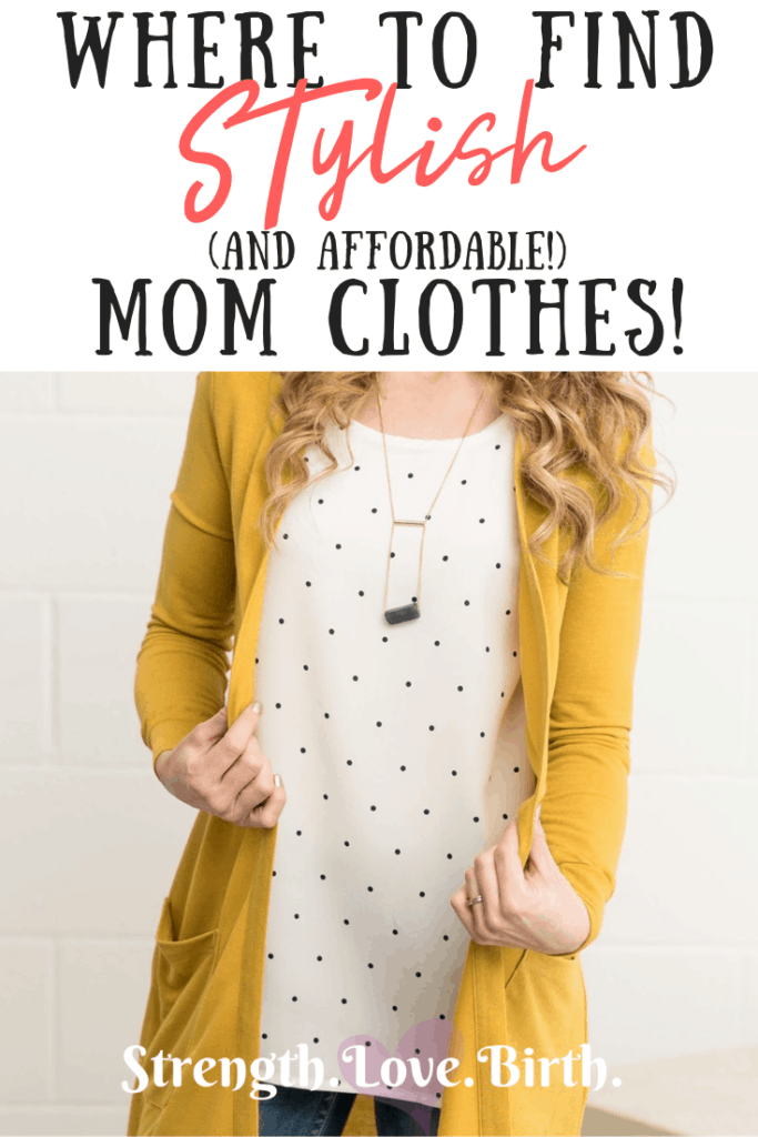 Super cute stylish mom clothes can be found at a discount at Jane.com. You'll love this boutique site!
