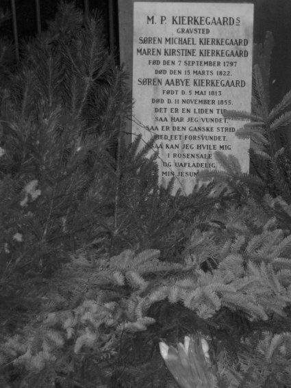 Kierkegaard's grave