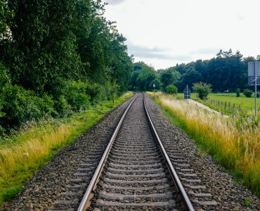 Railway In The Countryside