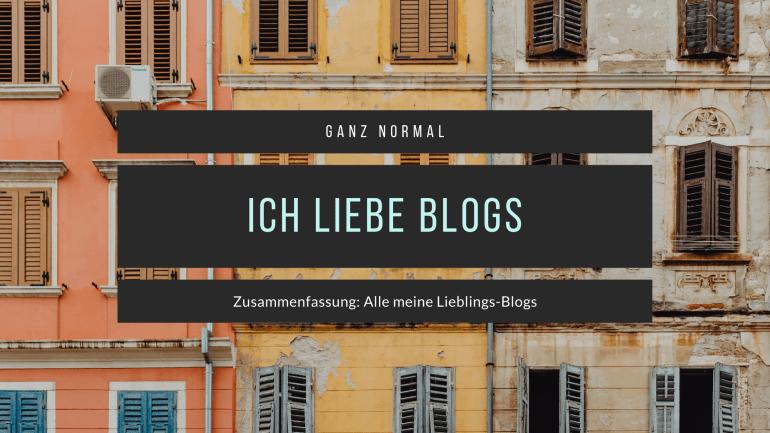 Alle meine Lieblings-Blogs!