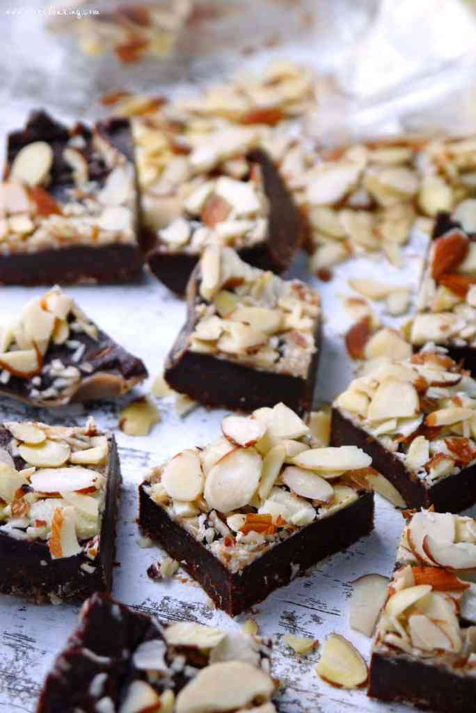 Chocolate Almond Butter Fudge