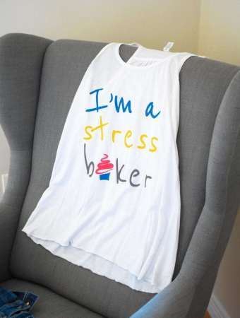 Stress Baking shirt giveaway!