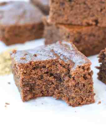 Paleo Gingerbread Bars