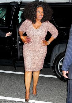 Oprah before or after a diet