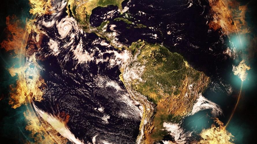 異常気象で世界が終わる?人類滅亡の可能性