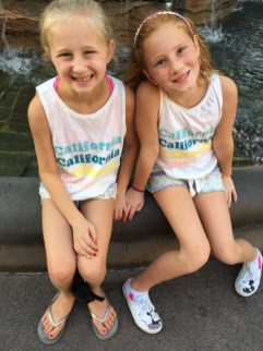 ava and audrey at downtown disney