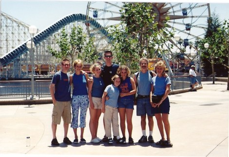Family picture Paradise Pier
