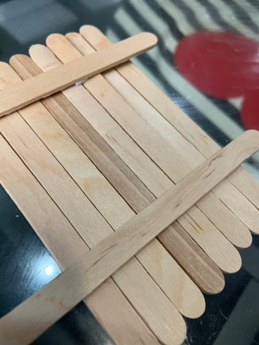 Popsicle stick rafts