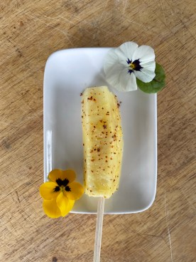 pineapple with tajin