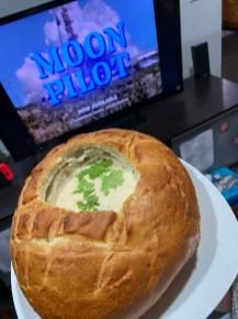 Sour dough bread bowl