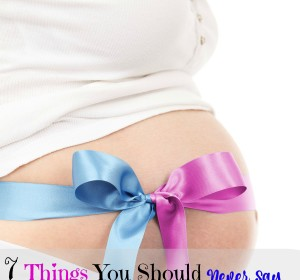 what not to say to a pregnant women carrying multiples