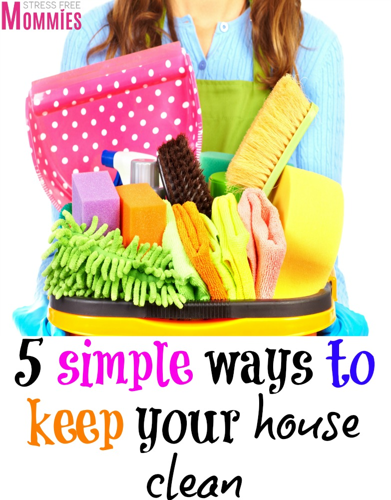 Are you tired of having a messy home? Check out these simple ways on how to keep your house clean TODAY! Apply these tips and enjoy a messy free and clean home.