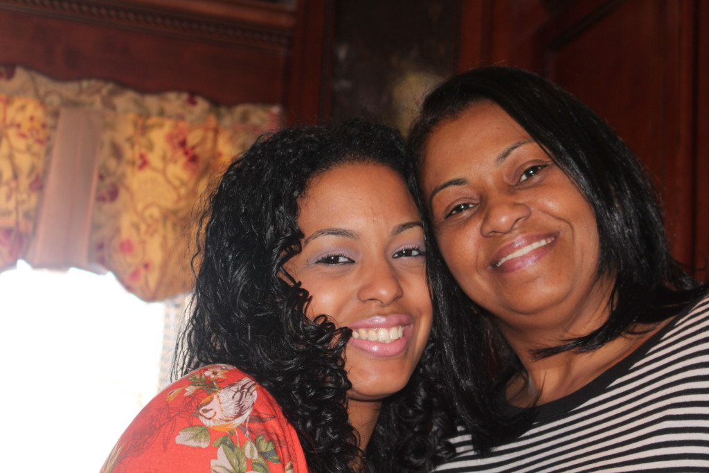 My mommy and me(twins..lol)