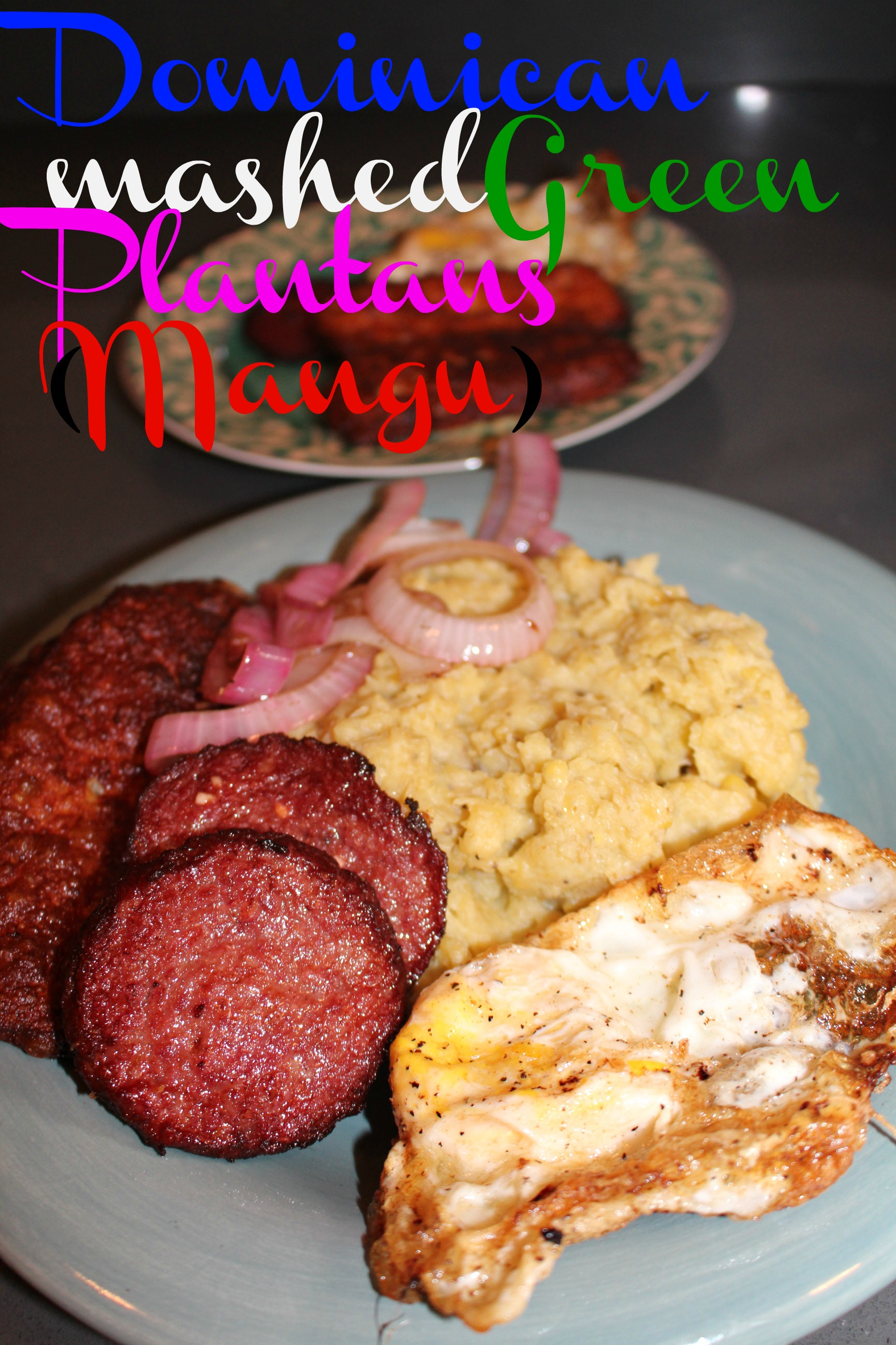 dominican mangú mashed green plantains  stress free mommies