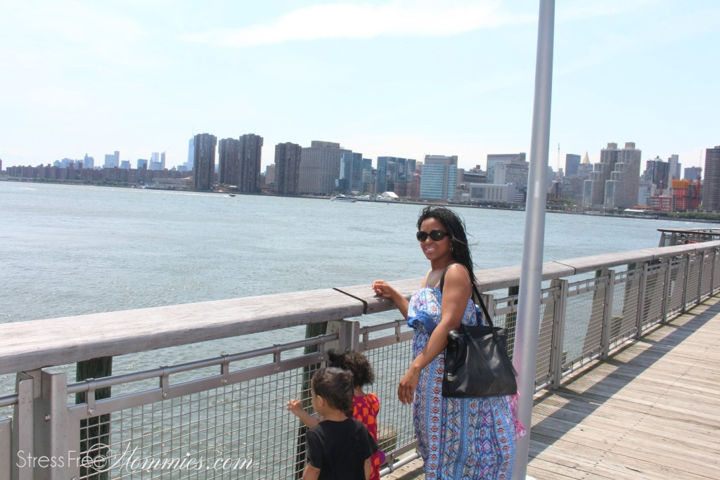 at the piers in long island city