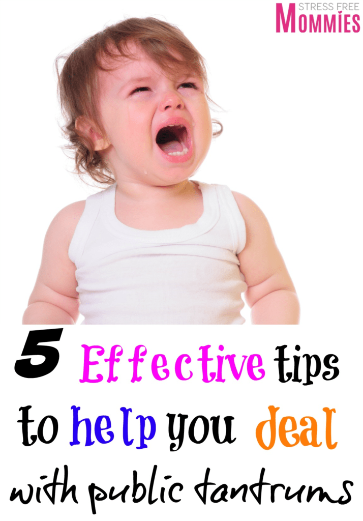 5 effective tips to help you deal with public tantrums- This article is so helpful and I recommend it to all the moms who want easy to follow but effective steps in stopping public tantrums. Read on and implement these effective tips to stopping your toddlers public tantrums.