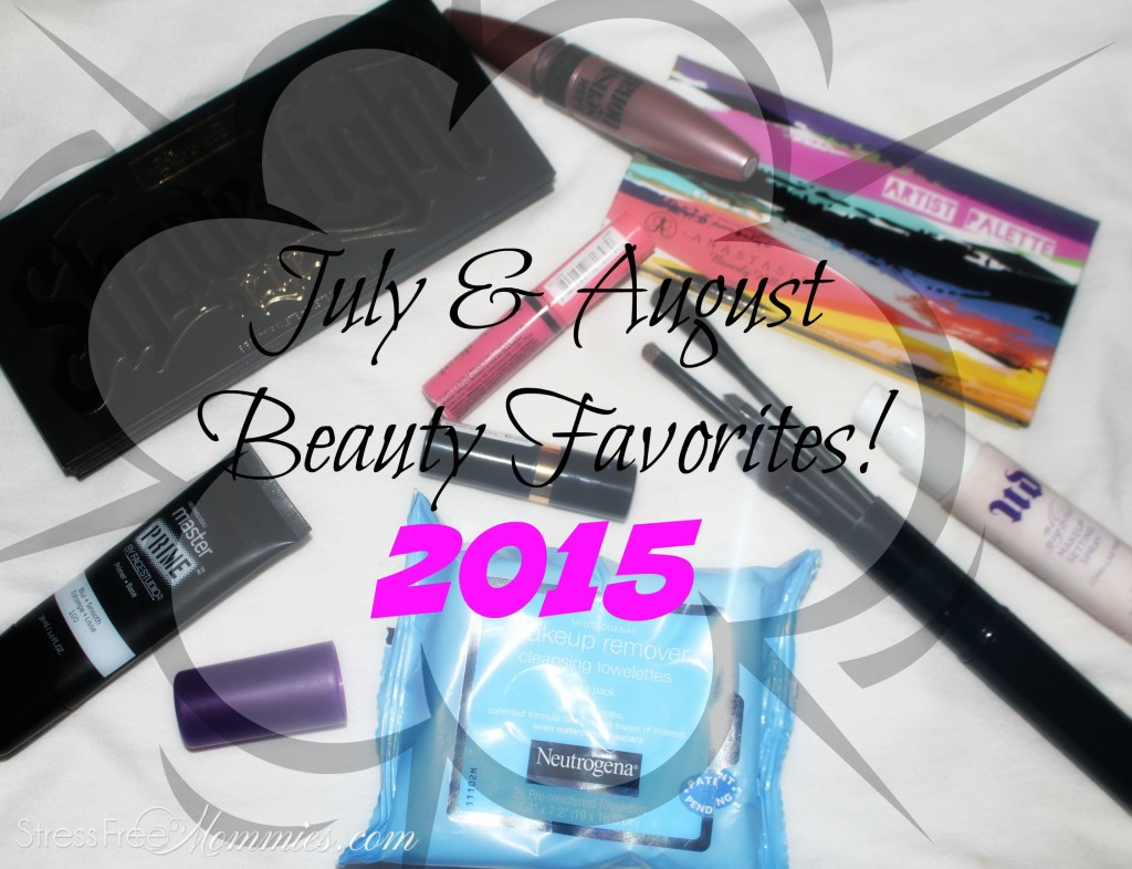 Beauty products for July and August