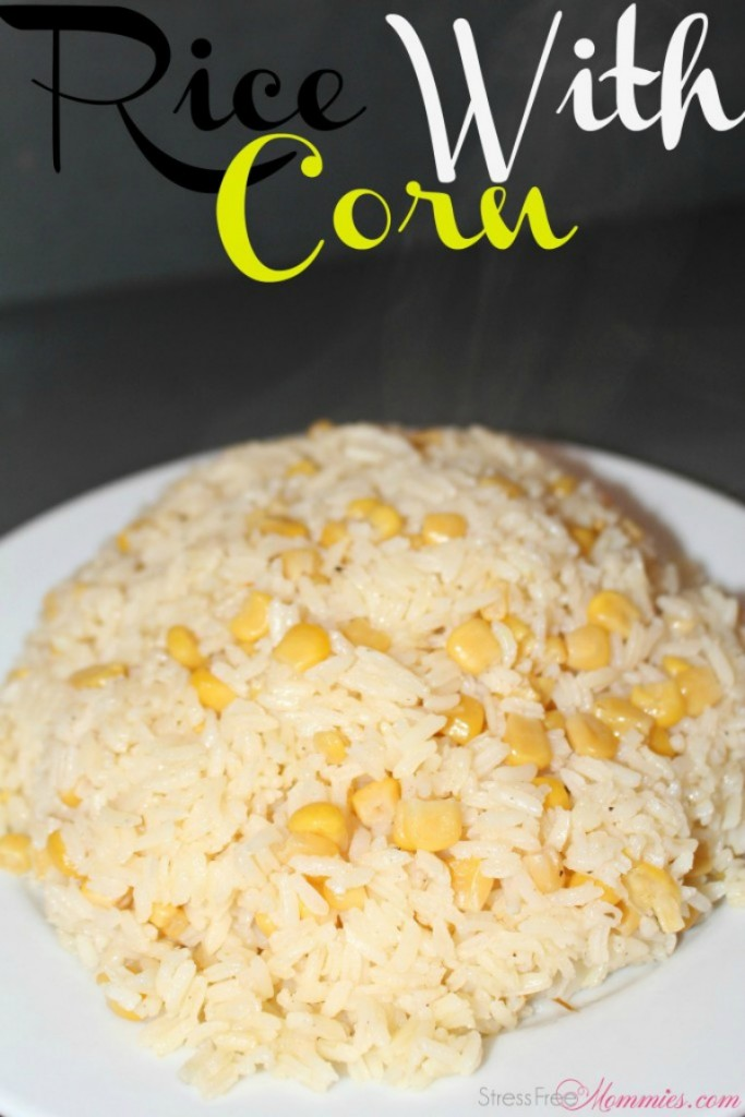 easy rice with corn recipe