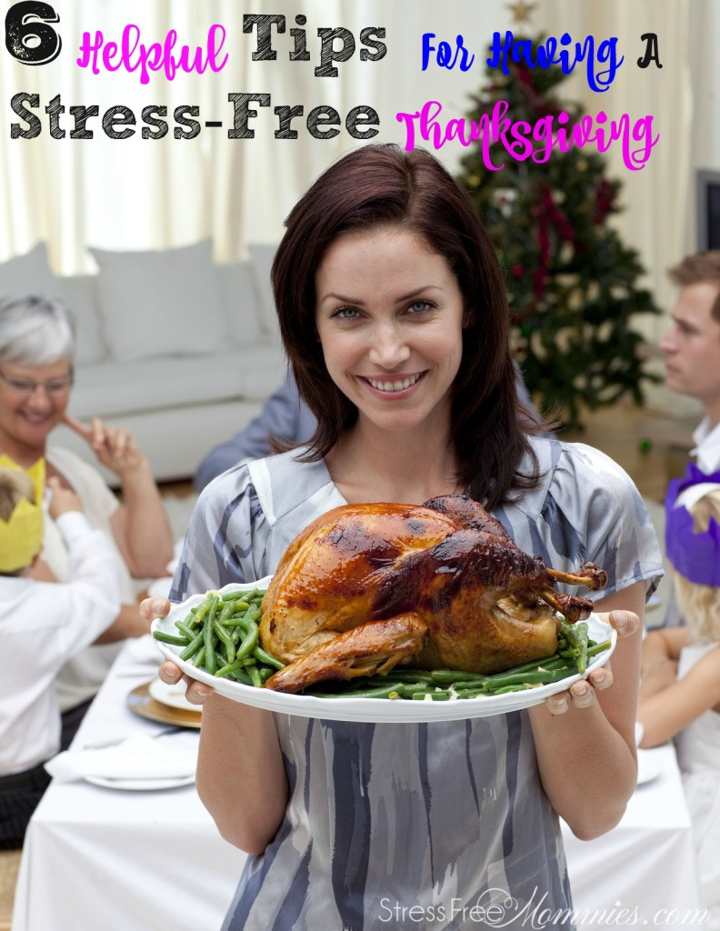 Here are quick and effective tips for having a stress free Thanksgiving! Keep this checklist on hand and remember the holidays season doesn't have to be stressful