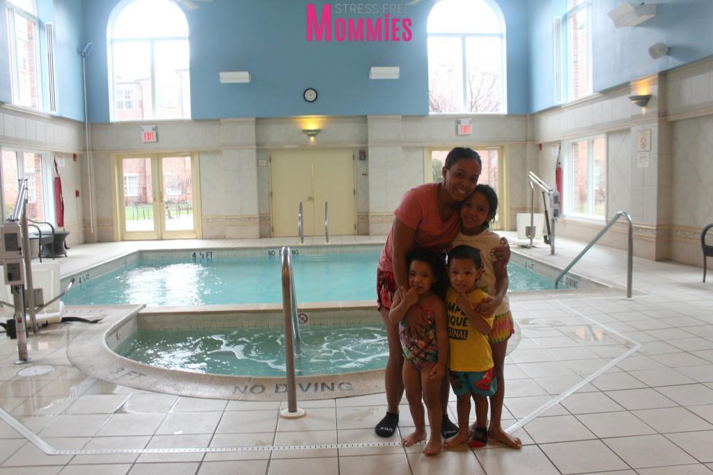 marriott residence inn pool