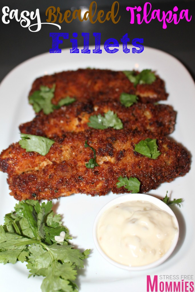 how to make breaded tilapia