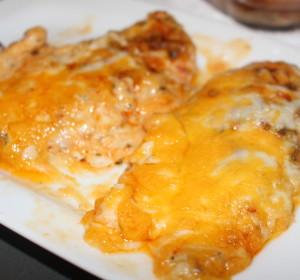 cheesy baked ranch chicken