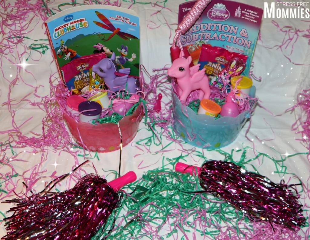 easter gift basket for girls