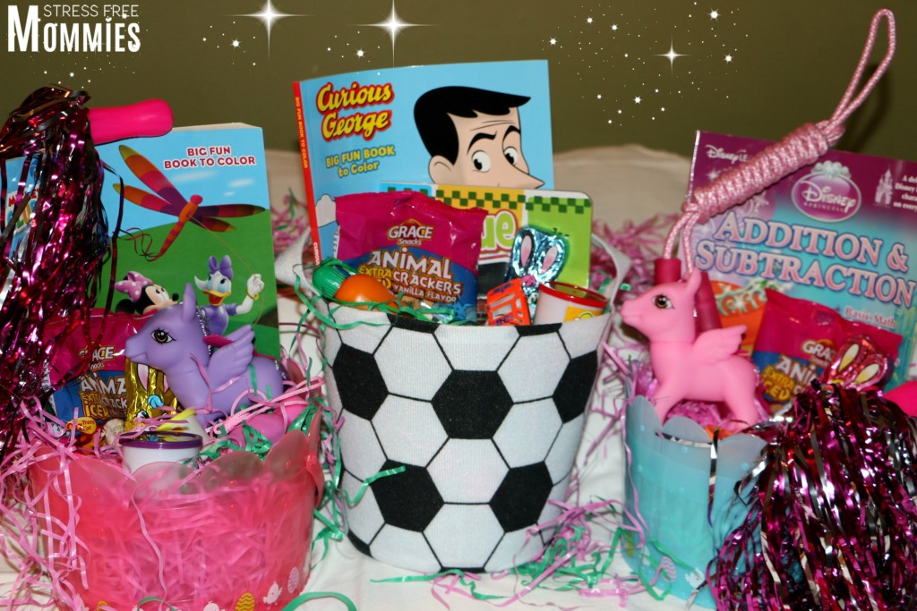 making your own easter baskets