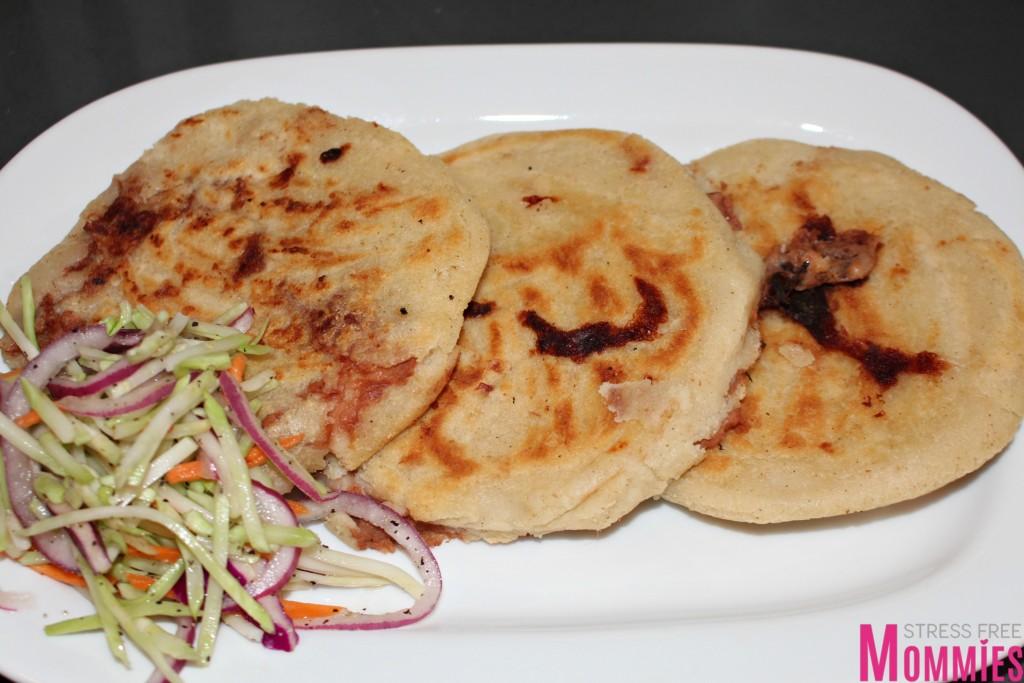 recipe of pupusas