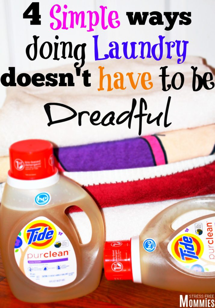 4 simple ways doing laundry doesn't have to be dreadful