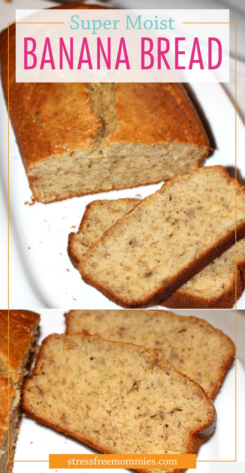 The most delicious and moist banana bread you\'ll ever taste. It\'s super easy to make and quick bread recipe. Enjoy today!