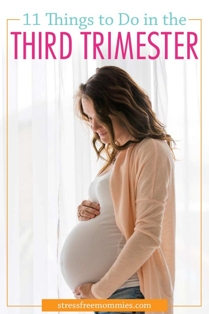 The best third trimester to do list.