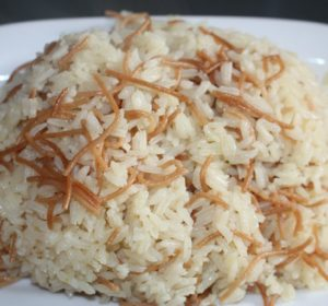 Rice and fried noodles is a Dominican popular dish. Full of flavor and delicious noodles floating around. Goes perfect with anything and it's super quick rice dish to make. Try it to today!