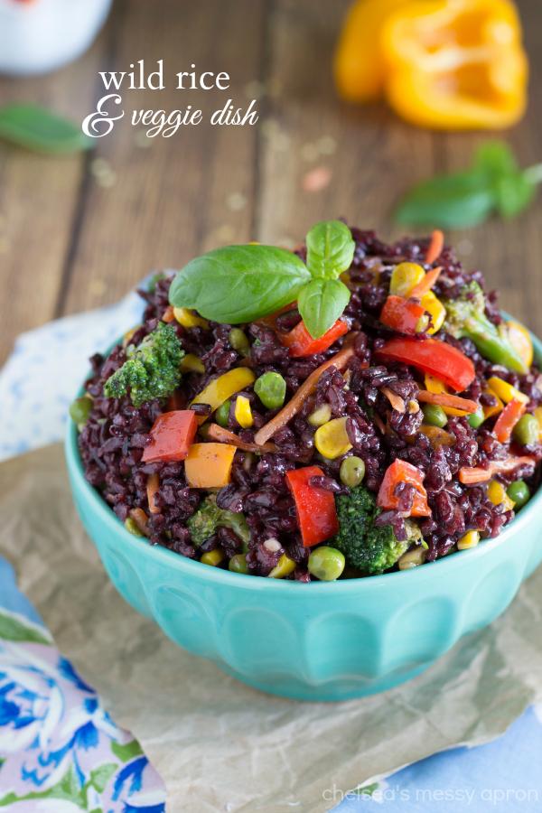 wild rice veggie dish