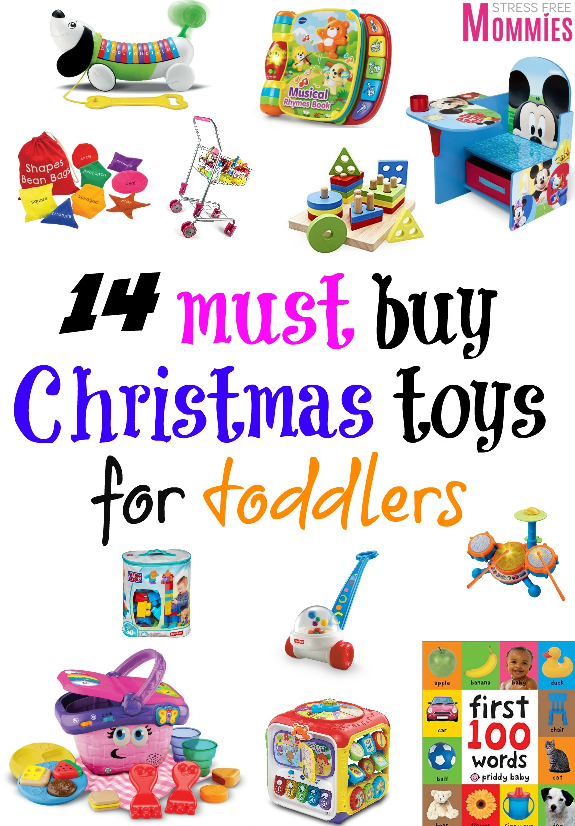 14 fun must buy Christmas toys for toddlers