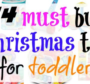 Get your hands on the ultimate Christmas gift guide for toddlers! Fun toys your toddlers are going to love playing with, plus learn with!