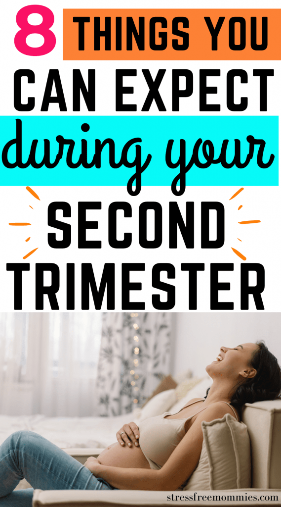 What to expect during your second trimester of pregnancy. Second trimester advice for new moms. First time pregnancy tips.
