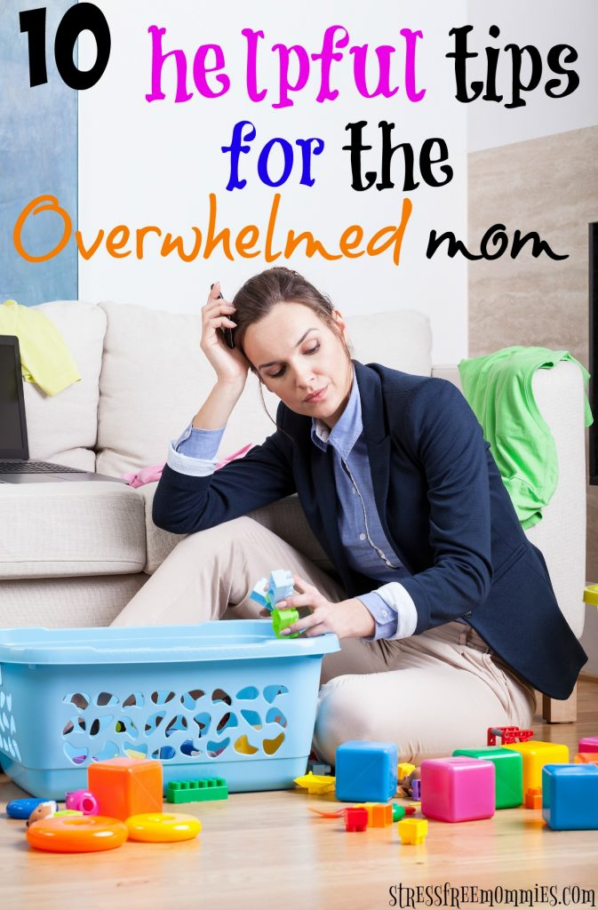 Drowning in chores and to do lists? Here are effective tips for the overwhelmed mom! Learn how to be happier, more productive and less overwhelmed!