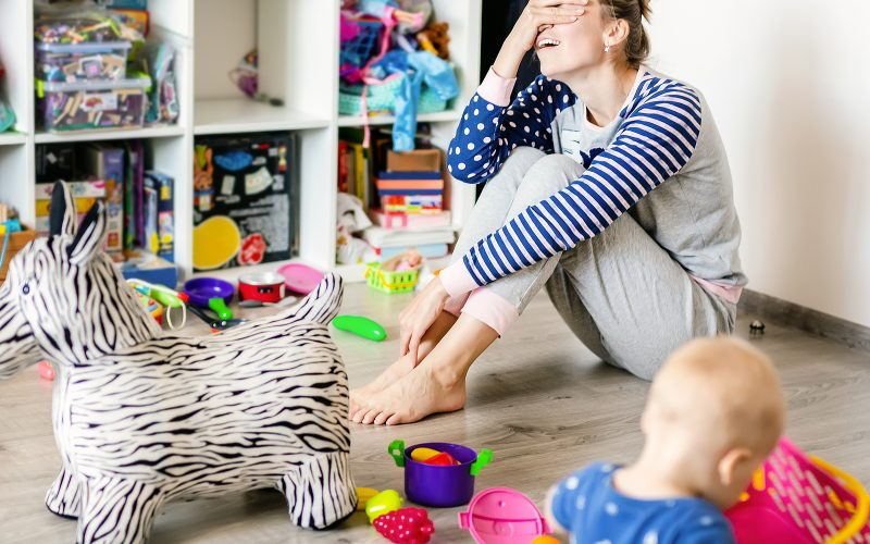 overwhelm tips for moms in motherhood