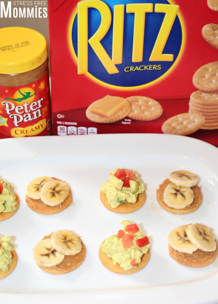 Ritz crackers makes the perfect snack! Whether you're on the go or want to impress your vistors, these two quick and easy appetizers are a must! Try them today #RITZpiration #ad