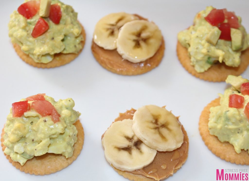 2 quick + easy appetizers with RITZ Crackers