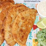 crab and cream cheese empanadas