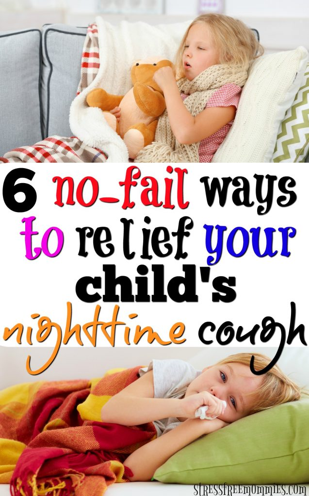 Helpful and tried ways to help your child's nighttime cough. No fail ways you can stop your child's constant nighttime cough.