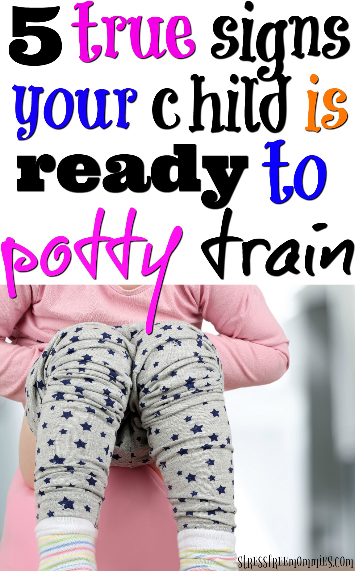 You\'re ready to start potty training. But is your child ready? Read the signs your child is ready to start potty training, so you can start with ease!
