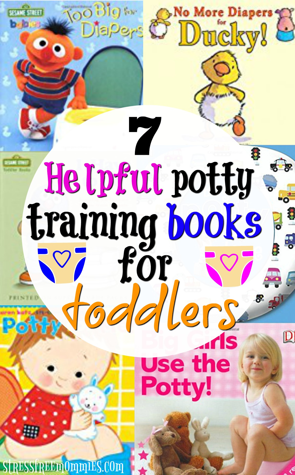Are you looking for ways to introduce the potty to your toddler? Reading potty training books is a great way for them to learn and help them visualize all about potty training.