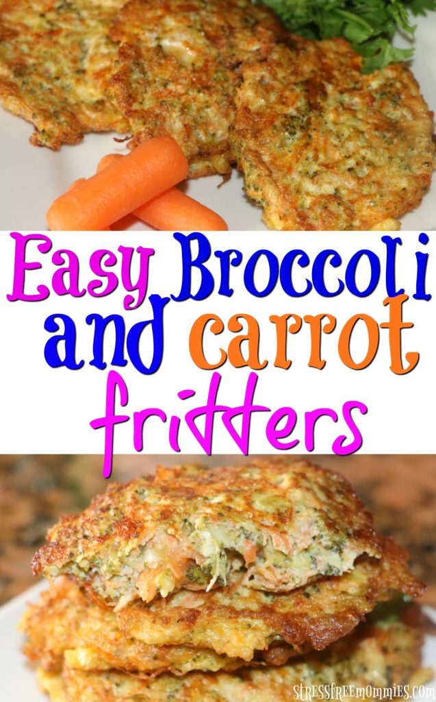 An easy way to get your kids to eat their vegetables. These broccoli and carrot fritters are so delicious, so easy and will be a family favorite.