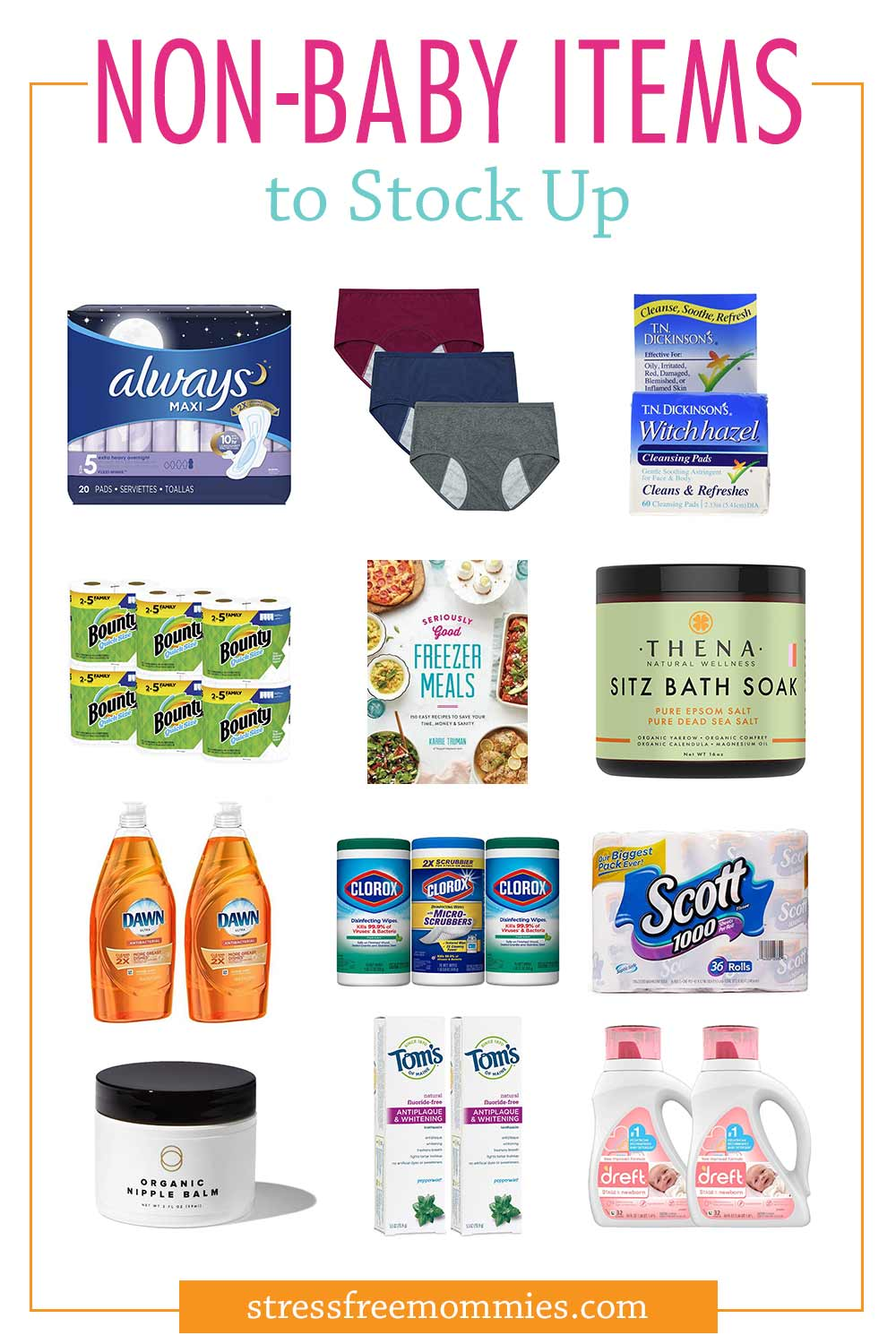 The 20 non-baby items you forgot to stock up on before baby arrives