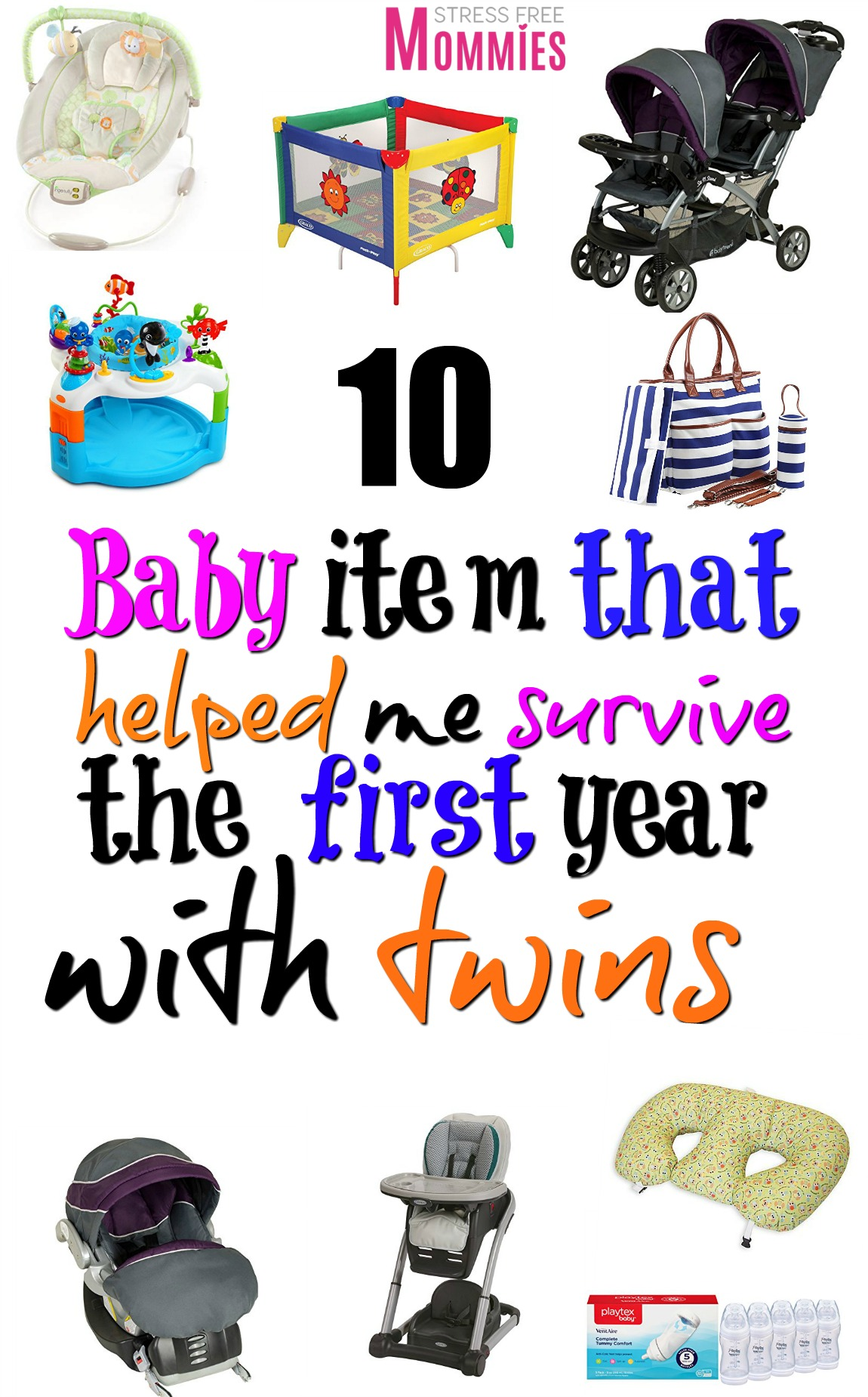 The 10 baby items that helped me survive the first year with twins