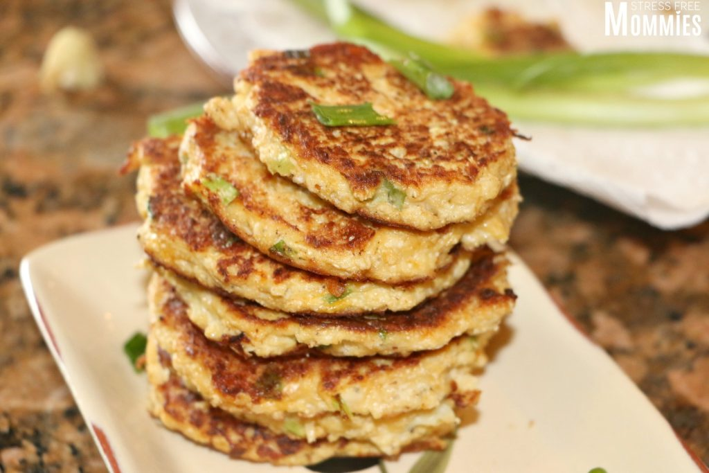 easy and tasty cauliflower fritters