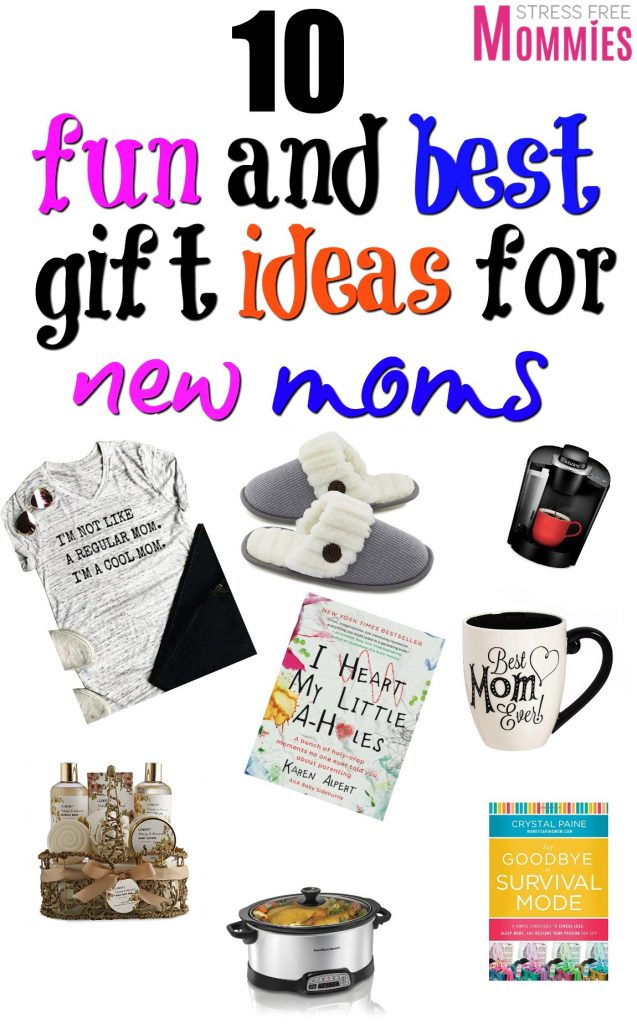 I wish I had these gift ideas for new moms when I was a first time mom.They are fun, unique and super helpful for new moms to enjoy their new role!
